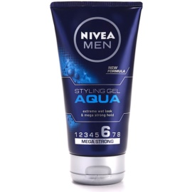 Nivea Men Aqua Hair Styling Wet Effect Gel Extra Strong Hold  150 ml
