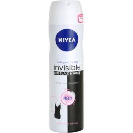 Nivea Invisible Black & White Clear antitranspirantes em spray  150 ml