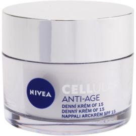 Nivea Cellular Anti-Age denný omladzujúci krém SPF 15  50 ml