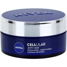 Nivea Cellular Anti-Age nočný omladzujúci krém 40+  50 ml