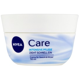 Nivea Care Cream For Face, Hands And Body  50 ml