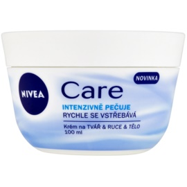Nivea Care Cream For Face, Hands And Body  100 ml