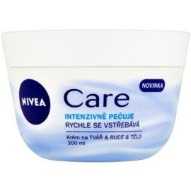 Nivea Care Creme für Gesicht, Hände und Körper  200 ml