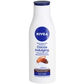 Nivea Cocoa Indulging výživné telové mlieko  pre suchú pokožku  250 ml
