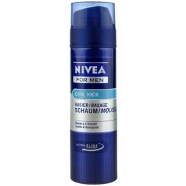 Nivea Men Cool Kick espuma de barbear  200 ml