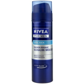 Nivea Men Cool Kick Shaving Foam  200 ml