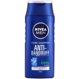 Nivea Men Cool šampon proti lupům pro svědicí a podrážděnou pokožku mentol  250 ml