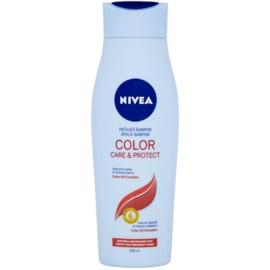 Nivea Color Care & Protect sampon pentru nuante mai luminoase cu ulei de macadamia  250 ml