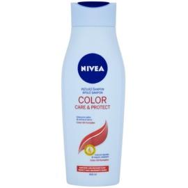 Nivea Color Care & Protect champô com óleo de macadâmia para cor brilhante  400 ml