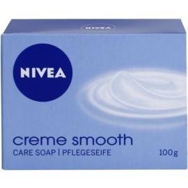 Nivea Creme Smooth tuhé mýdlo  100 g
