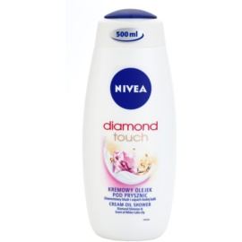 Nivea Diamond Touch krémový sprchový gél (Cream Oil Shower) 500 ml