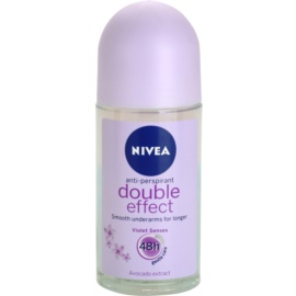 Nivea Double Effect antiperspirant roll-on 48h  50 ml