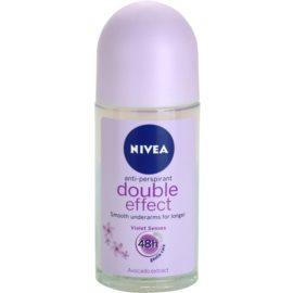 Nivea Double Effect Antitranspirant-Deoroller 48h  50 ml