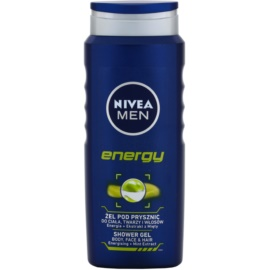 Nivea Men Energy гель для душу для обличчя, тіла та волосся  500 мл