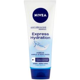 Nivea Express Hydration könnyű krém kézre  100 ml