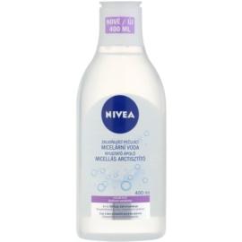 Nivea Face Demachiant calmant micelara de apa pentru piele sensibila   400 ml