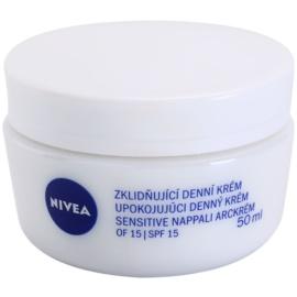 Nivea Face crema de día calmante  para pieles sensibles  50 ml
