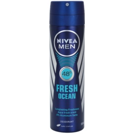 Nivea Men Fresh Ocean deodorante spray 48H  150 ml