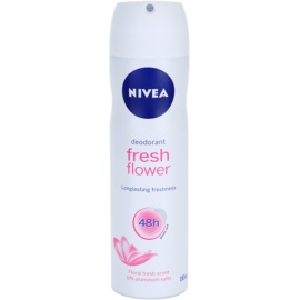 Nivea Fresh Flower Deodorant Spray 48H  150 ml