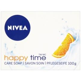 Nivea Happy Time tuhé mydlo  100 g