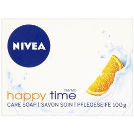 Nivea Happy Time Feinseife  100 g