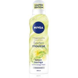 Nivea Silk Mousse Lemon Moringa jedwabisty mus do mycia ciała  200 ml