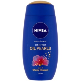Nivea Creme Oil Pearls Caring Shower Gel Cherry Blossom 250 ml