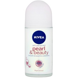Nivea Pearl & Beauty antiperspirant roll-on 48h  50 ml