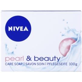 Nivea Pearl & Beauty tuhé mýdlo  100 g