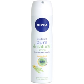 Nivea Pure & Natural spray dezodor 48h Jasmine Deodorant 150 ml
