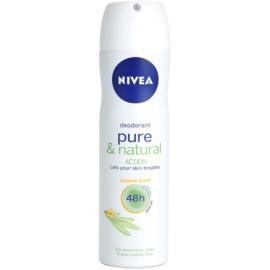 Nivea Pure & Natural deodorant ve spreji 48h Jasmine Deodorant 150 ml