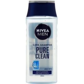 Nivea Men Pure Clean shampoing pour cheveux normaux  250 ml