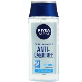 Nivea Men Pure champú anticaspa para el cabello normal hasta graso  250 ml