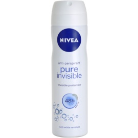 Nivea Pure Invisible antiperspirant v spreji 48h  150 ml