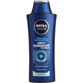 Nivea Men Power champô anticaspa para cabelo normal  400 ml