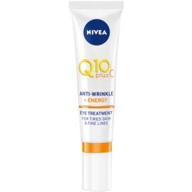 Nivea Q10 Plus C tratamiento antiarrugas contorno de ojos  15 ml