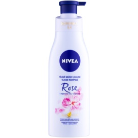Nivea Rose & Argan Oil Body Lotion With Oil  200 ml