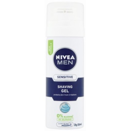 Nivea Men Sensitive gél na holenie  30 ml