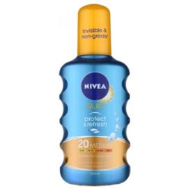 Nivea Sun Protect & Refresh transparentny, chłodzący spray do opalania SPF 20  200 ml