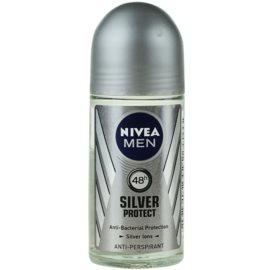 Nivea Men Silver Protect antiperspirant roll-on pre mužov 48h  50 ml
