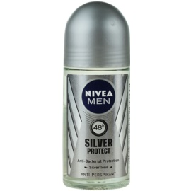 Nivea Men Silver Protect antiperspirant roll-on pro muže 48h  50 ml
