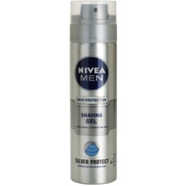 Nivea Men Silver Protect gel de ras  200 ml