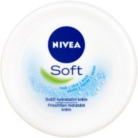 Nivea Soft erfrischende, hydratisierende Creme  200 ml
