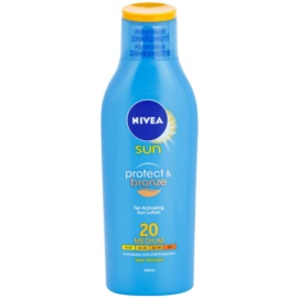Nivea Sun Protect & Bronze Intensive Sun Milk SPF 20  200 ml
