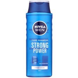 Nivea Men Strong Power champô para cabelo normal  400 ml