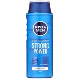 Nivea Men Strong Power posilující šampon  400 ml