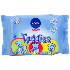 Nivea Baby Toddies čistilni robčki za otroke  60 kos