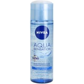 Nivea Visage Aqua Sensation čisticí gel pro normální až smíšenou pleť  200 ml