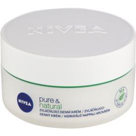 Nivea Visage Pure & Natural crema de día suavizante para pieles normales y mixtas  50 ml