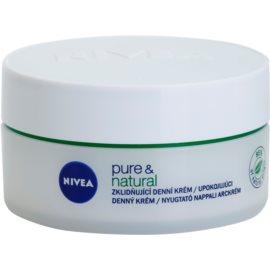 Nivea Visage Pure & Natural crema de zi calmanta ten uscat   50 ml